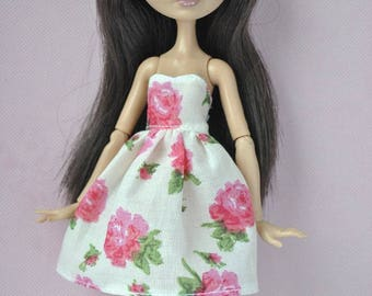 Handmade dress  for Ever After High ,Monster High dolls