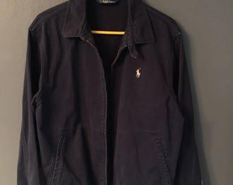Polo Harrington Jacket Vintage 90s