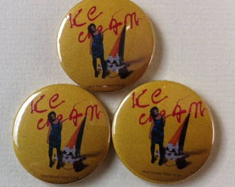 "NEW! - New Young Pony Club ""Ice Cream"" Pinback Button"