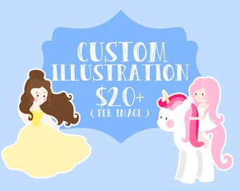 Custom Illustration - Custom ClipArt - Custom Graphic - Commercial Use License - No Credit License