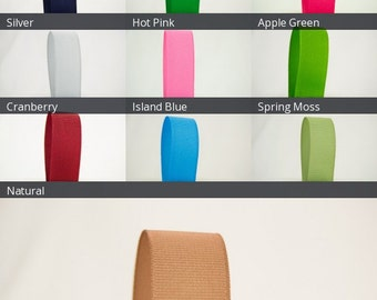 Ribbon Bazaar Solid Grosgrain Ribbon 1-1/2 inch 50 yards 100% Polyester