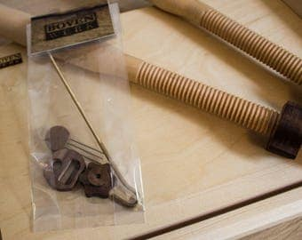 Extra Tape/cord key set for sewing frame
