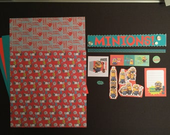 Minions Over Confident Scrapbooking Kit