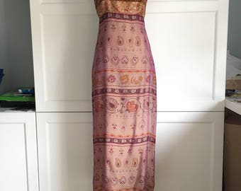 A mid Nineties Laundry Shelli Segal silk dress