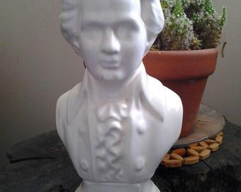 Vintage Composer Mozart Bust