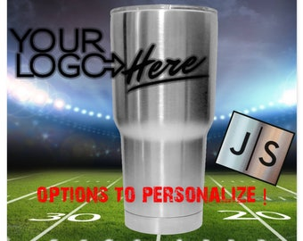 YETI or RTIC Engraved Tumbler/Denver Broncos/Broncos Yeti/Broncos RTIC/Broncos Tumbler/Broncos Cup/Father's Day Gift/Gift For Dad