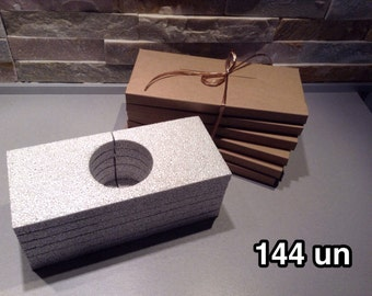 144 envelopes postal, less than 2 cm, slot of doom, cardboard is recycled kraft jewellery, ETSY sellers, protection, ultra light