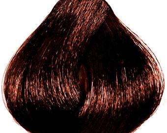 Remy Human Hair Extension Clip in Streak Dark Brown