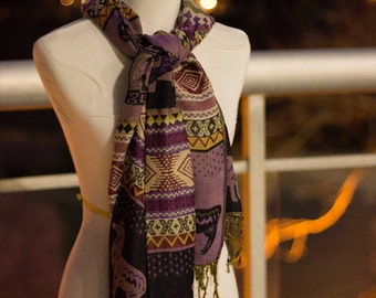Peruvian Scarf (all proceeds go to charity)