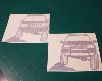 Jeep ZJ/WJ Flex Decal