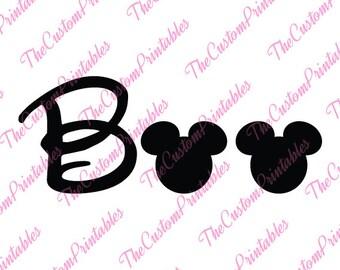 Boo, Mickey, Mouse, Halloween, Disney, SVG, Cricut Files, Silhouette Files, Cameo, Vector, T-shirt,Iron On