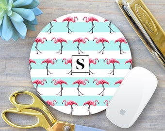 Flamingo Mouse Pad, Flamingo Mousepad, Boss Mousepad, Mouse pad, Gift for Boss, Gift for Coworker, Office Decor, Desk Accessories, Mousemat