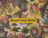 Reserved For Terri - Hand-Painted Dollshouse Miniature Jug & Bowl - Pale Green
