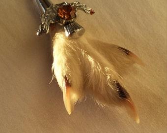 Grouse Scottish Vintage brooch
