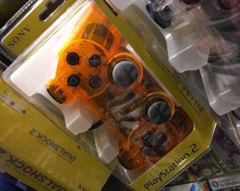 PS2 Dual Shock Controller - Orange