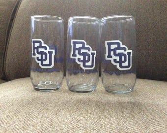 Penn State glasses, set of 3