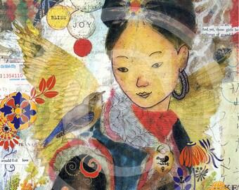 Hmong, Hmong Art, Sapa, Vietnam, Sapa Vietnam, Asian Print, Asian Wall Art, Asian Art Prints, Asian Artwork, Asian Prints, Asian Wall Art
