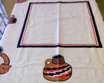 La Union Chilean Latino Cookware Linen Tablecloth