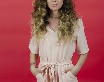 Alexa pink Jumpsuit