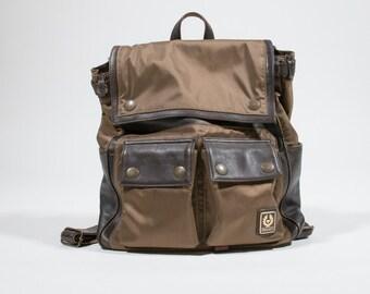 BELSTAFF - nylon backpack