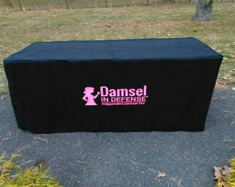 Damsel in Defense 6-fitted-table-cover