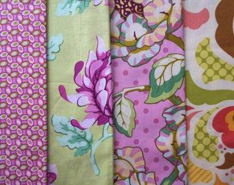 Freshcut by Heather Bailey for Free Spirit Fabrics - Quarter Yard Bundle - 4 pieces