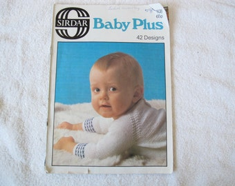 Sirdar Baby Plus 42 Designs / Baby Toddler children knitting patterns
