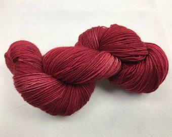 Hand-dyed sock yarn Merino and nylon fingering
