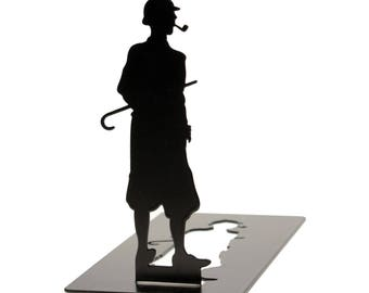 Decorative bookends Sherlock Holmes