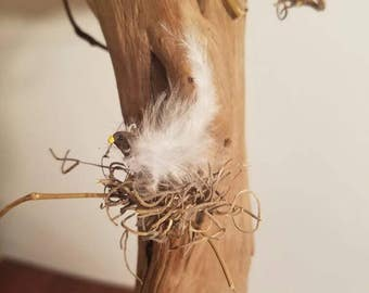 Handmade miniature birds by szq