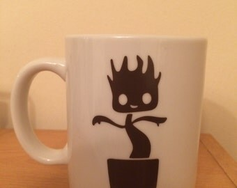 Inspired Guardians of the Galaxy - I am Groot mug