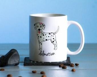 Dalmatian Mug (girl)