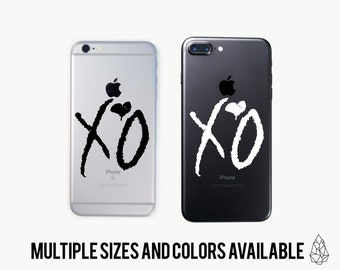 The Weeknd Laptop Decal, Macbook Apple Decal, Iphone Decal, Car Decal, Kanye West Decal, Chance The Rapper Sticker, Yeti Decal