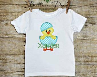 Boy Chick Easter Shirt