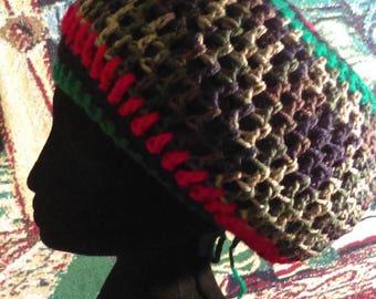 MEGA Crowned Rasta Hat/Tam - Many Colors!