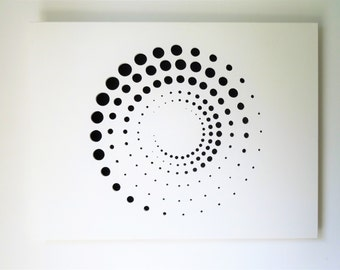 """Panel wall """"geometry of circles and effect of volumes"""""""