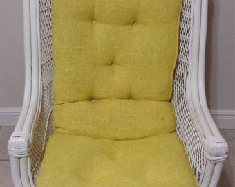 Vintage  Swivel Egg Chair with rattan
