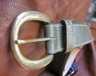 Belt with wonderful buckle