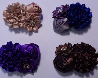 Three Flower Barrette