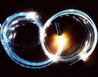 Fiber optic whip