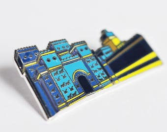 Ishtar's Gate Hard Enamel Pin