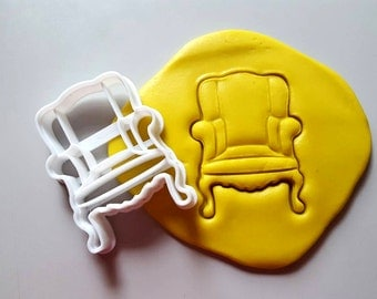 Vintage Chair Cookie Cutter