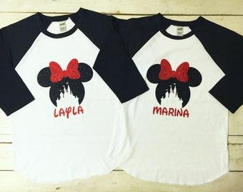 Disney Cinderella Castle Raglan-Shirt-Onesie