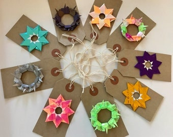 4 Luxury Origami Gift Tags