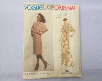 Vintage Vogue Paris original UNCUT Pierre Balmain pattern - Size 12 - 1625