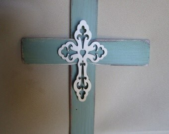 Cross Religious, Rugged Rustic Memorial First Communion for Men or Boys