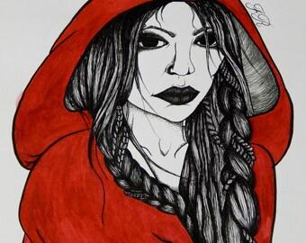 Red Ridding Hood (Original Piece)