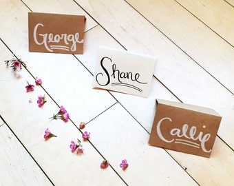 Custom Wedding Name Place Cards