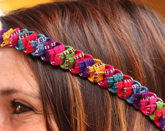 Handmade Guatemalan headbands
