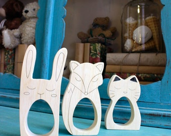 Mothers day,Waldorf Toys, Bunny, Wooden Animals, Wooden Rabbit, Eco-friendly Toys, Waldorf Education, Egg holder, Kinder